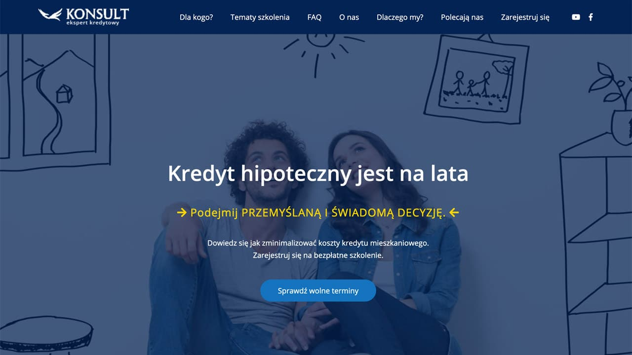 Strony internetowe dla branży finansowej