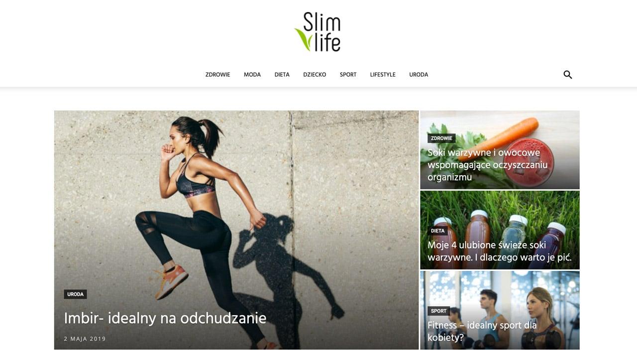 portal internetowy dla branży sport