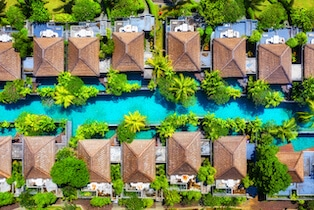 zdjęcia z drona dla hoteli